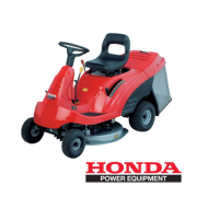 Tractor Cortacesped HF 1211 S HONDA asiento mini riders