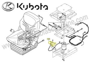 COMPRESOR AIRE ASIENTO TRACTOR KUBOTA