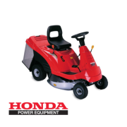Tractor Cortacesped HF 1211 H HONDA asiento mini riders